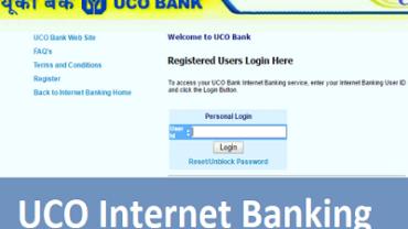 UCO Internet Banking