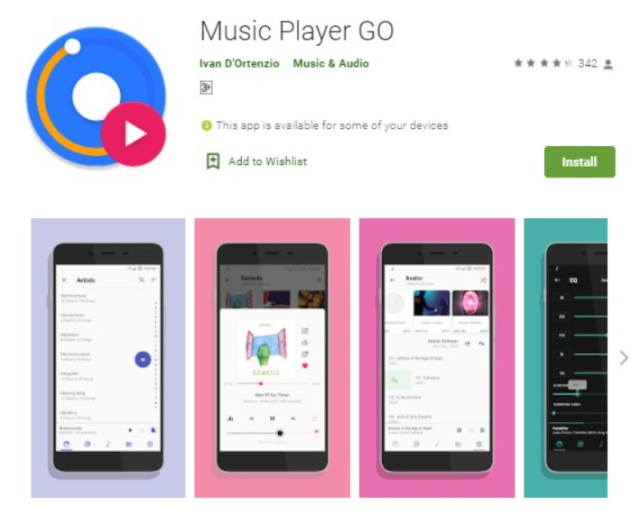 Music Player Go
