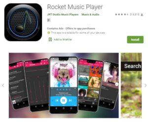 Rocket Music Player